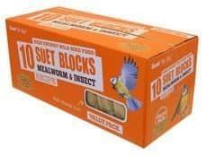 Suet to go suet block value pack mealworm